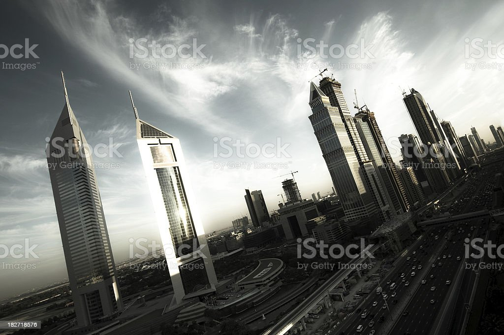 Dreamy Dubai stock photo