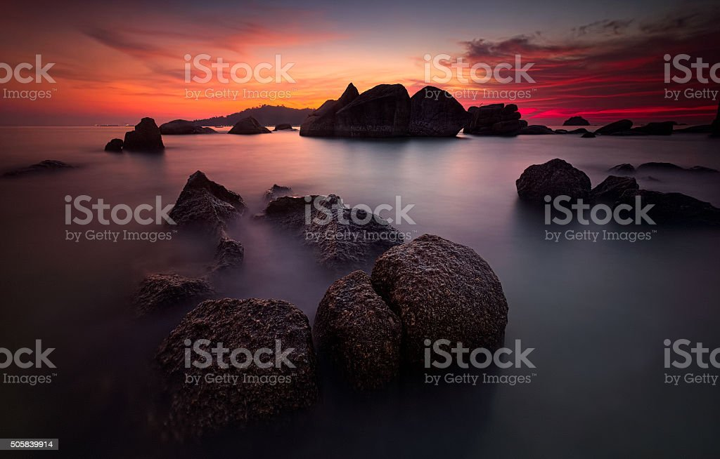 Dreamy Dusk stock photo