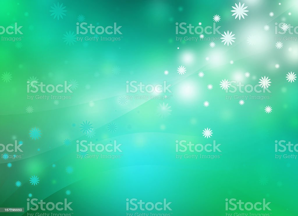 Dreamy floral Background stock photo