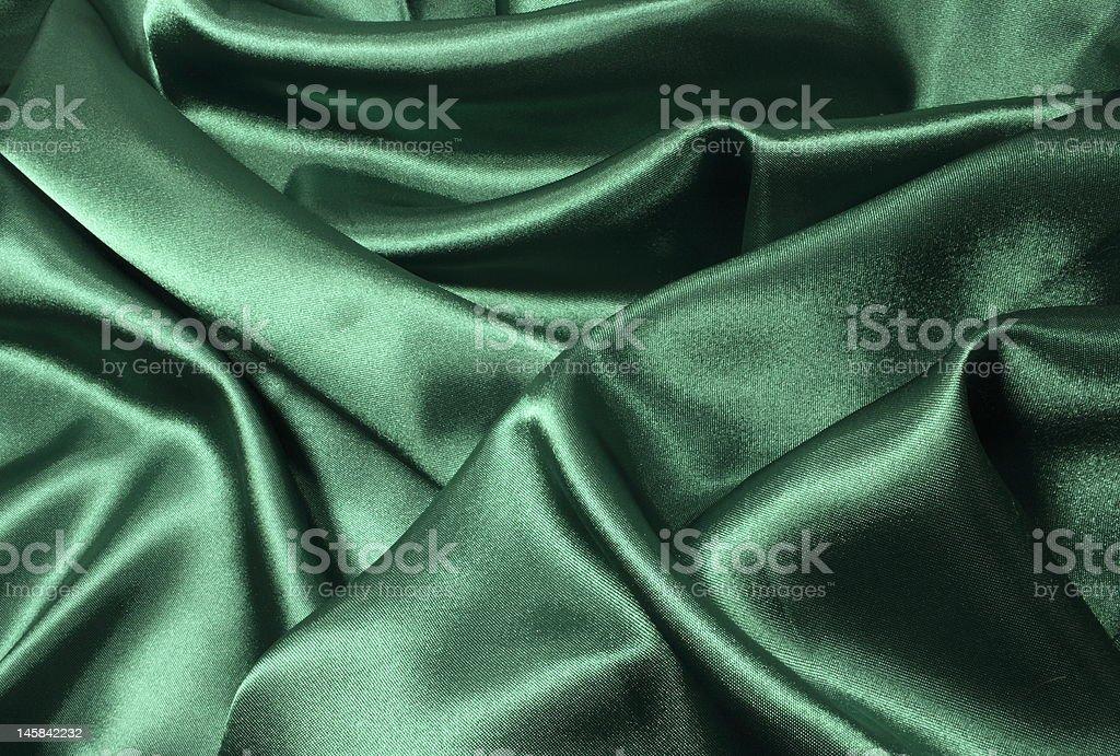 Dreamy Green Satin royalty-free stock photo