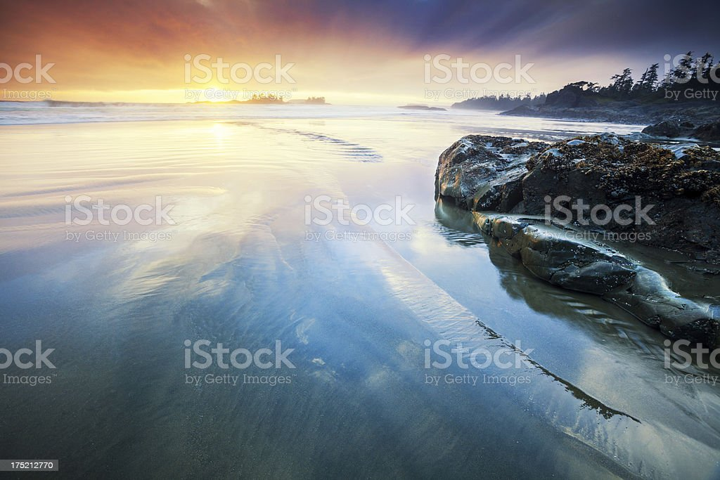 Dreamy Sunset royalty-free stock photo