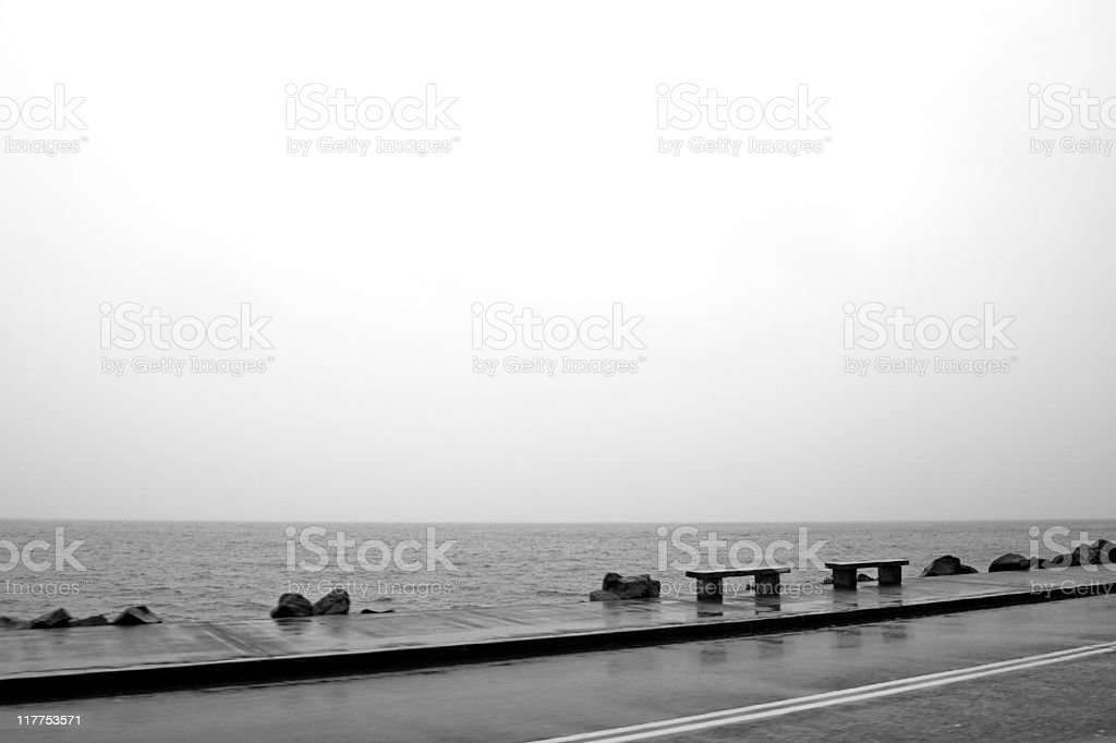 Dreary Day stock photo