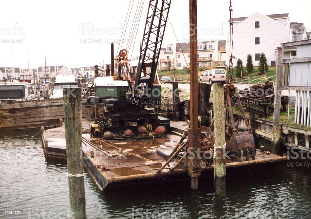 Dredge Crane (3) royalty-free stock photo