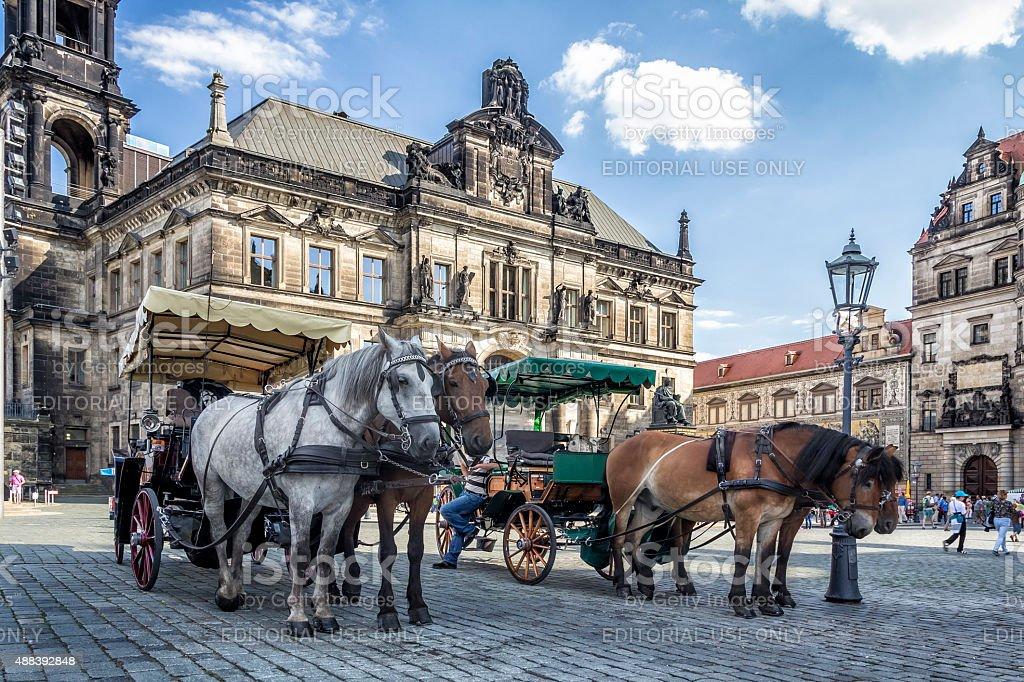 Dresden, Germany stock photo