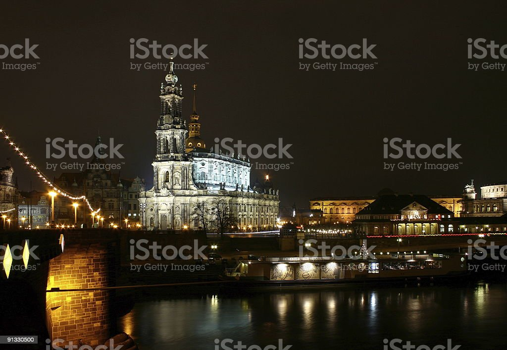Dresden Panorama royalty-free stock photo