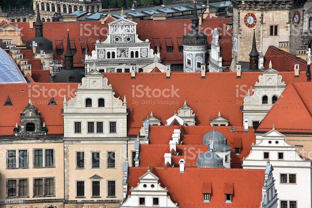 Dresden royalty-free stock photo