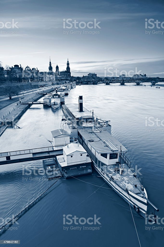 Dresden. stock photo