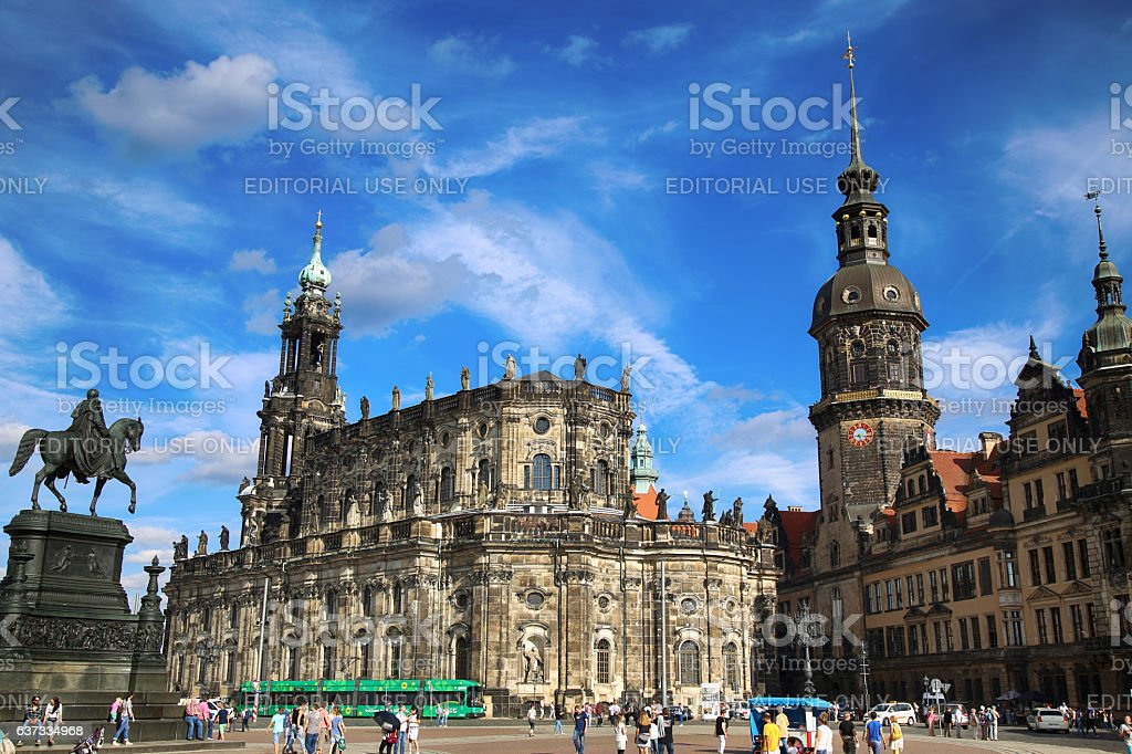 Dresden, State of Saxony, Germany stock photo