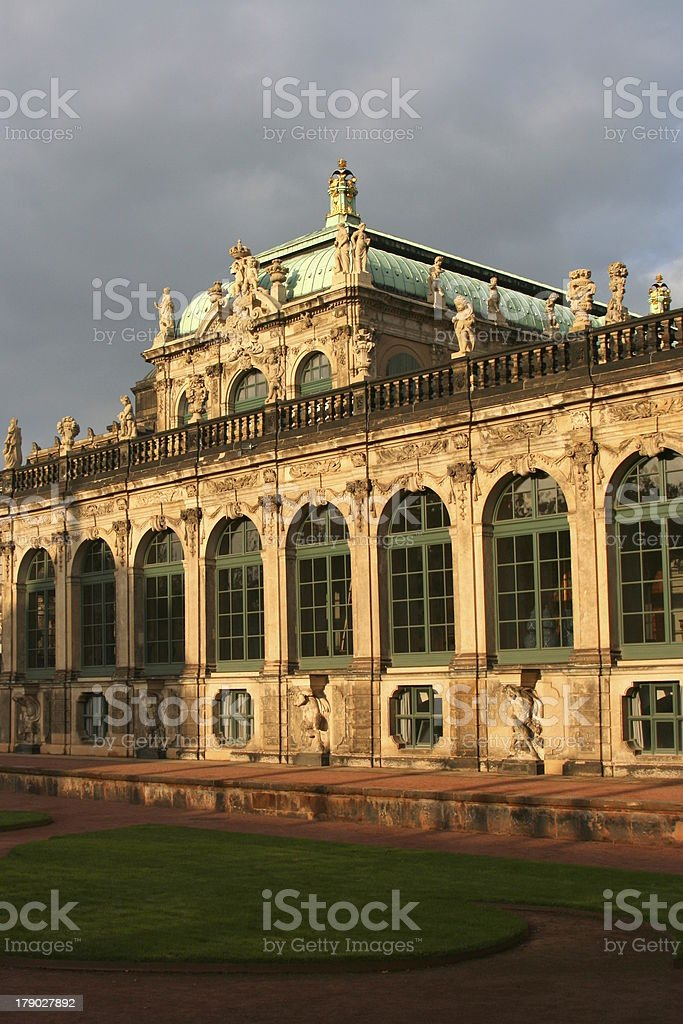 Dresden, Zwinger royalty-free stock photo