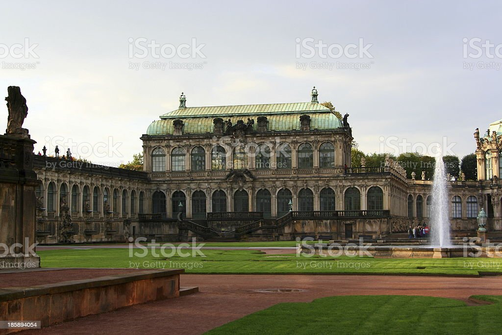 Dresden, Zwinger stock photo