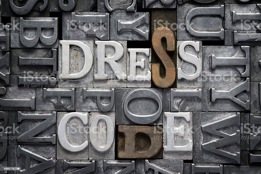 dress code met stock photo