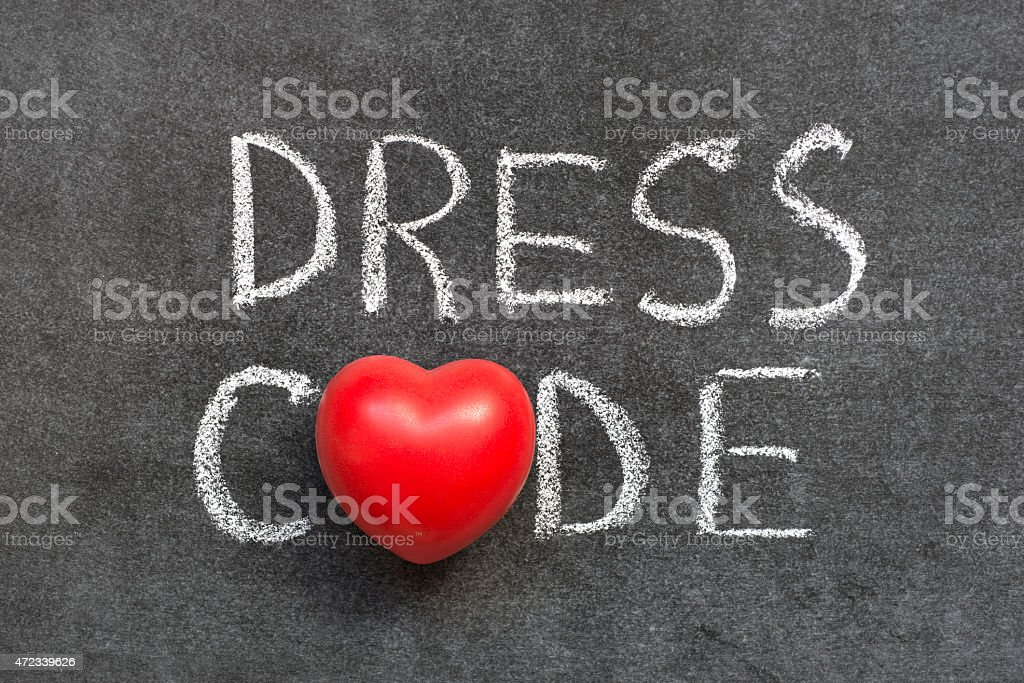 dress code stock photo