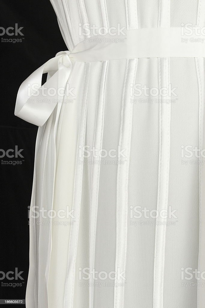 Dress Fashion Clothing Bow Belt royalty-free stock photo