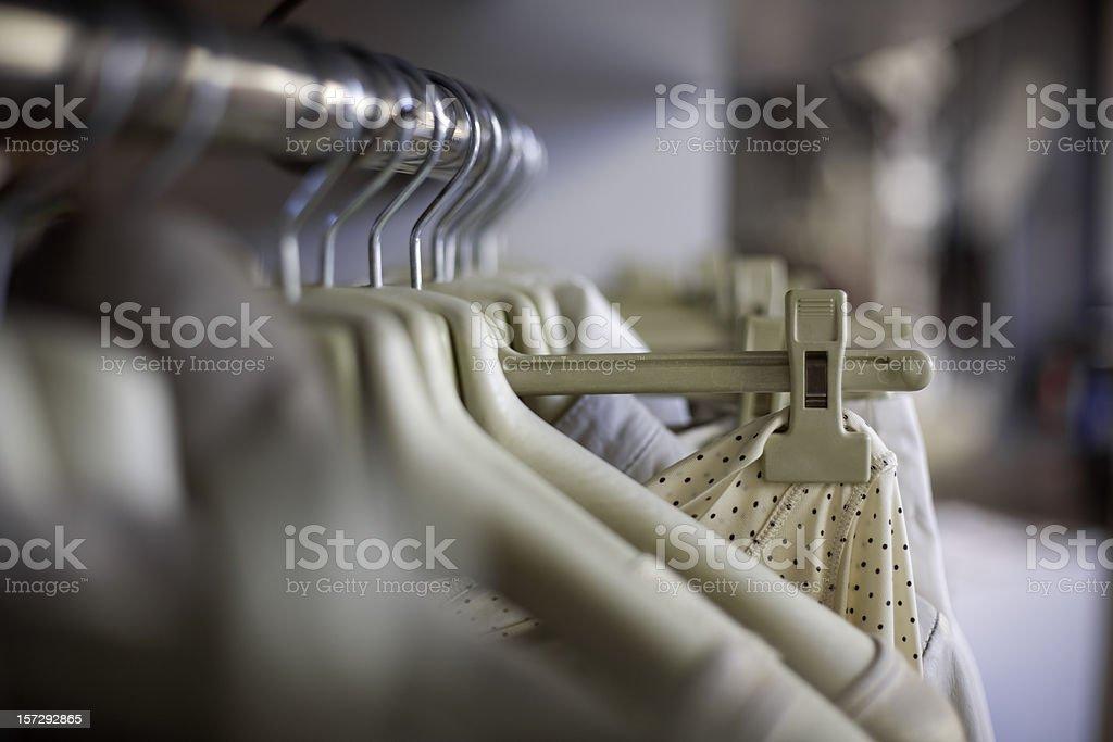 dress fashion shop royalty-free stock photo