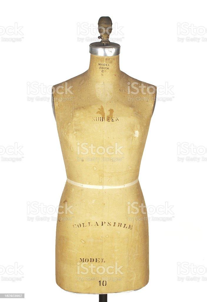 Dress Maker Model Form royalty-free stock photo