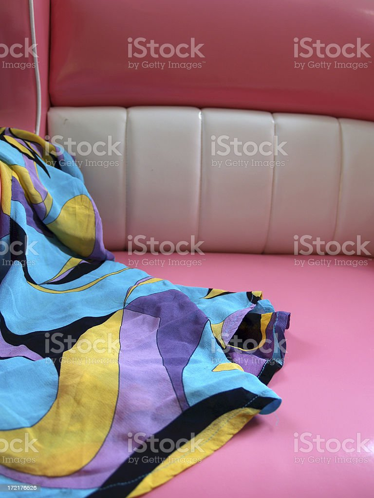 Dress on a Chair royalty-free stock photo