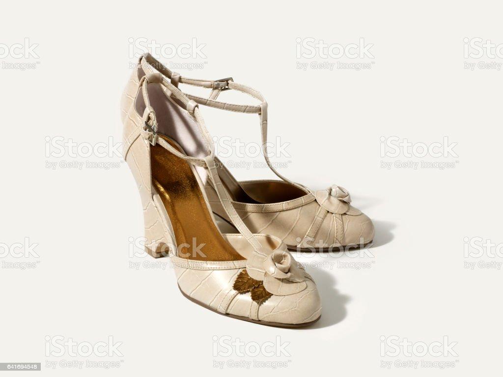 dress shoes stock photo