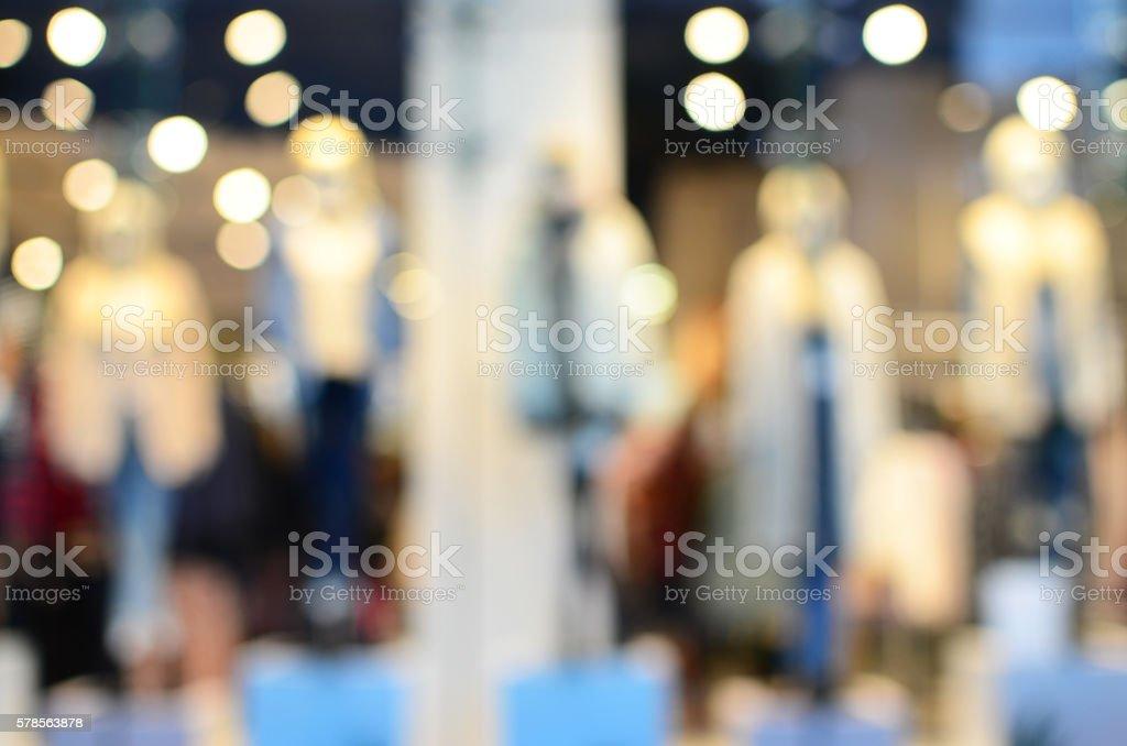 Dress store stock photo