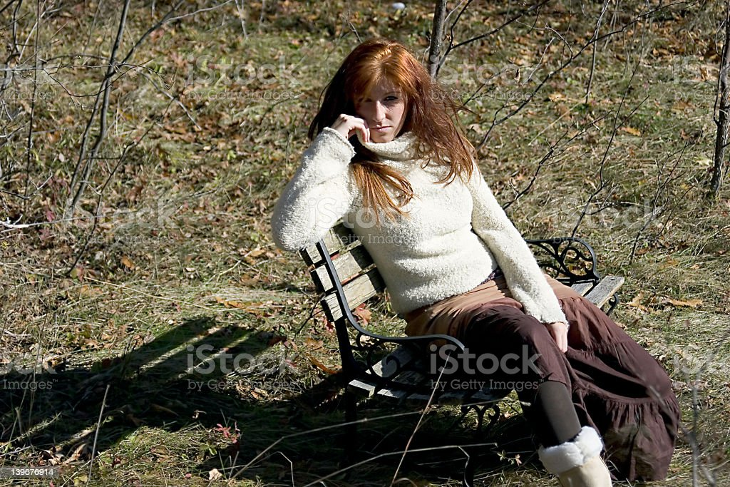 Dressed for Fall royalty-free stock photo