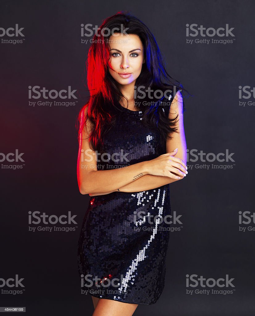 Dressed for Party royalty-free stock photo