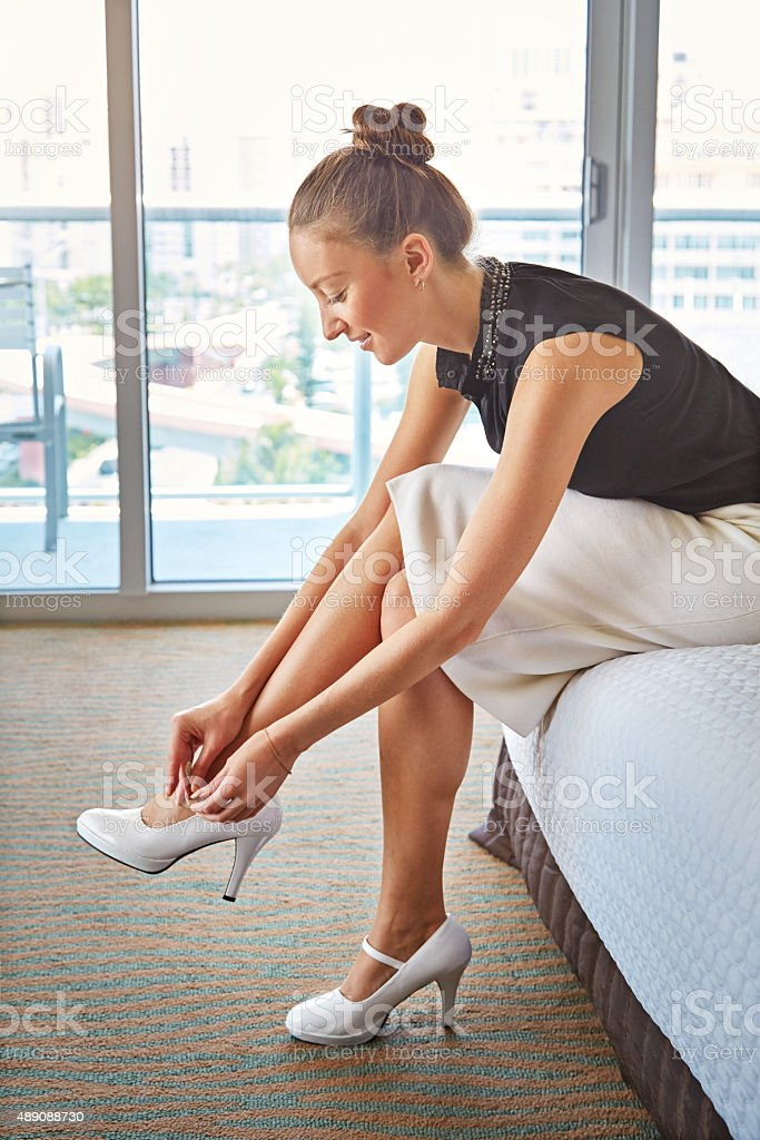 Dressed for success stock photo