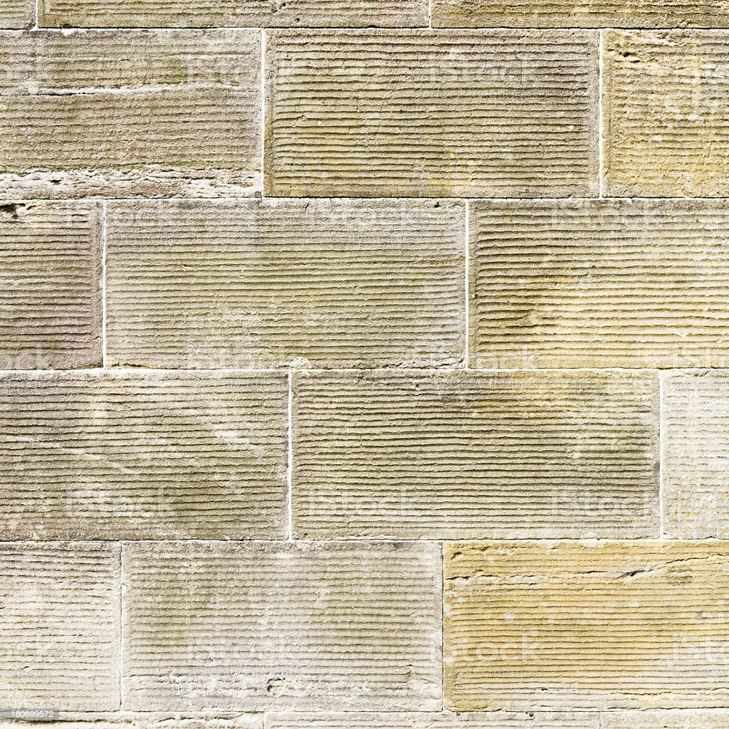 Dressed Stone Wall Background royalty-free stock photo