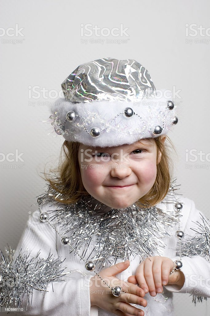 Dressed to kill with ornaments royalty-free stock photo