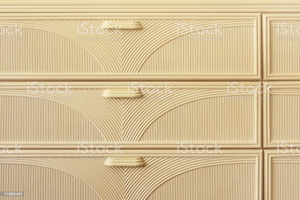 Dresser Drawer Cabinet Furniture royalty-free stock photo