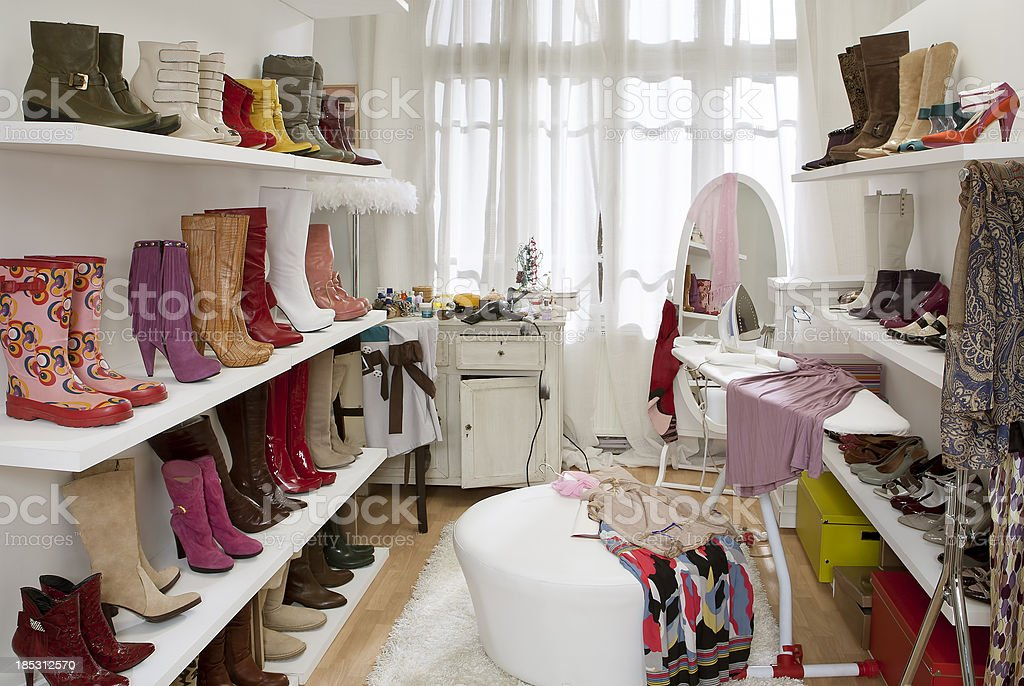 dressing or changing room royalty-free stock photo