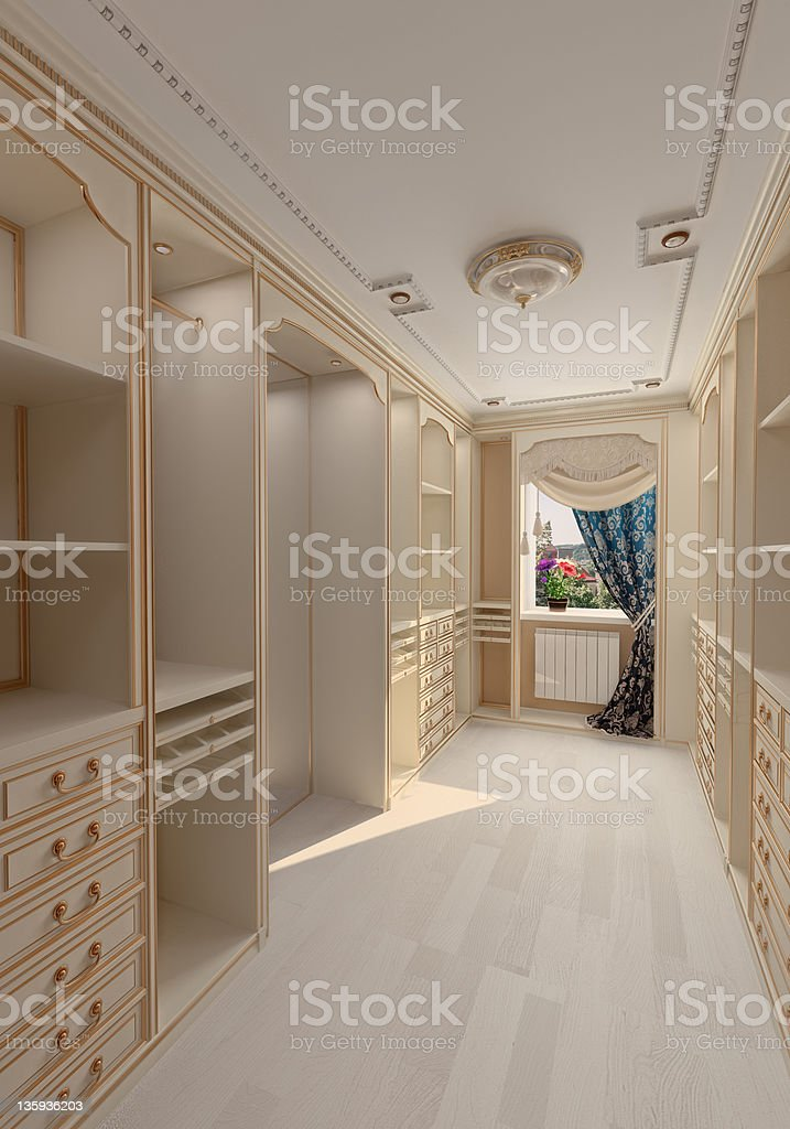 dressing room interior royalty-free stock photo