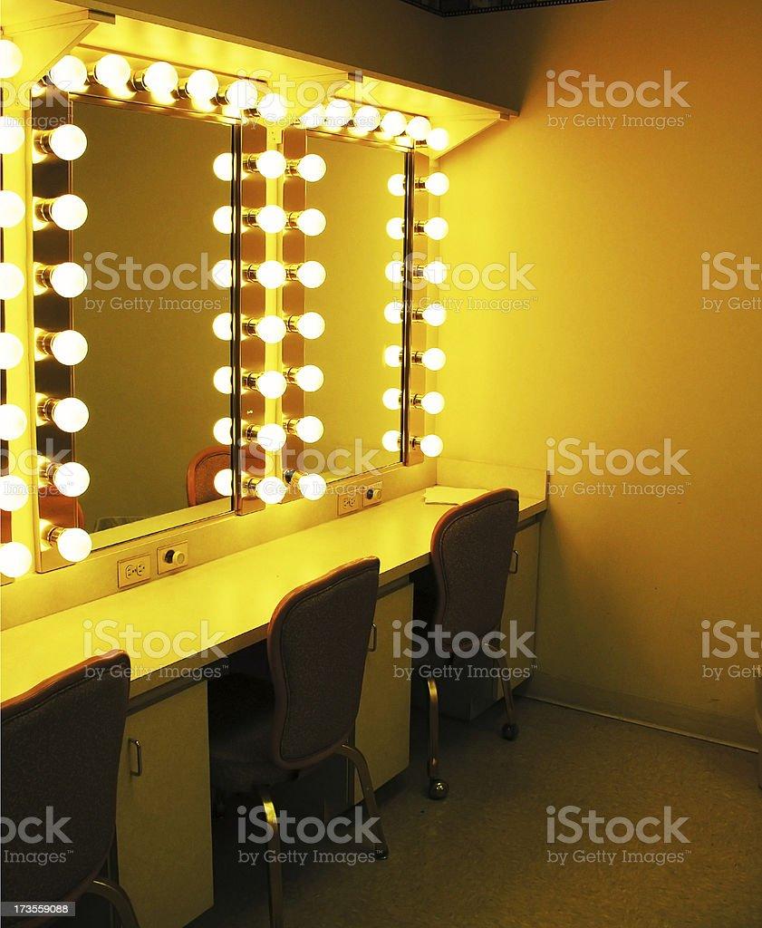 dressing room stock photo