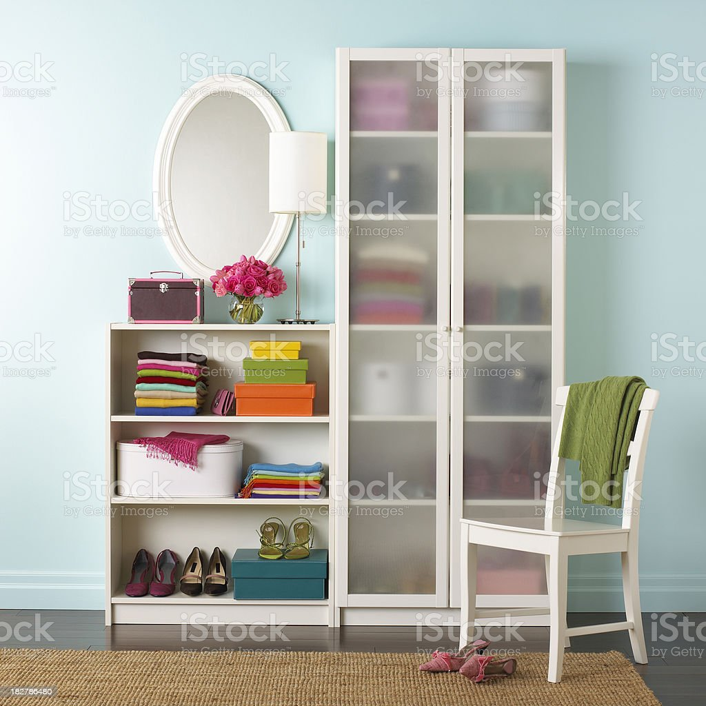 dressing room royalty-free stock photo