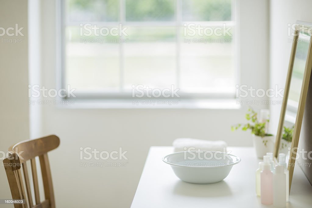 Dressing table royalty-free stock photo