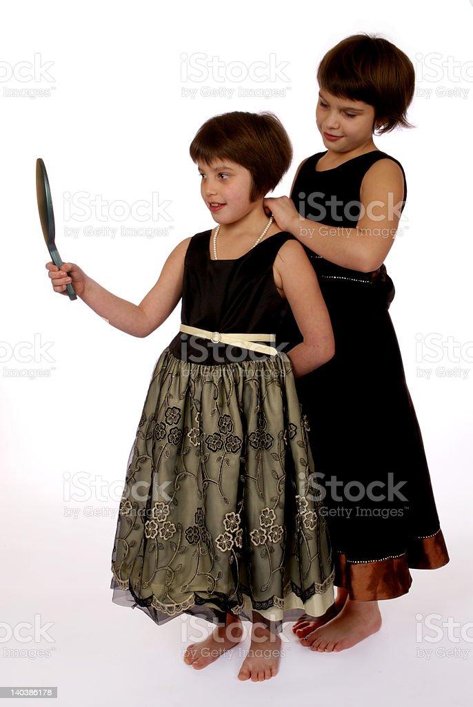 Dressing Up royalty-free stock photo