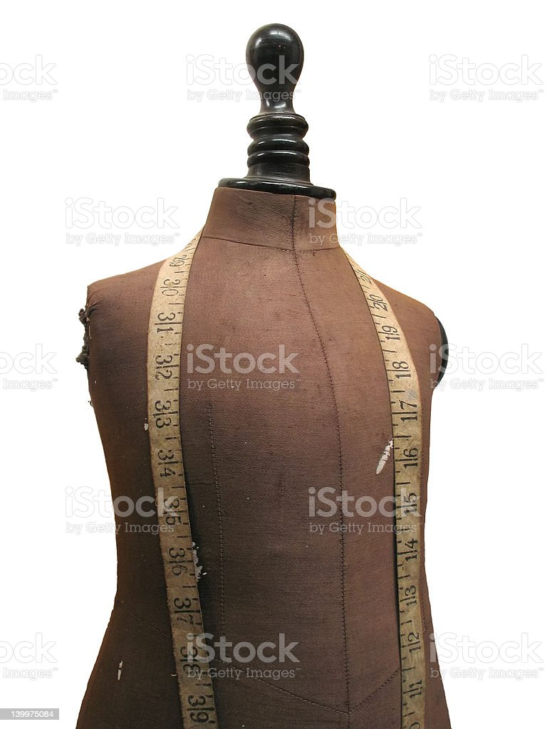 Dressmaker dummy / mannequin / model royalty-free stock photo
