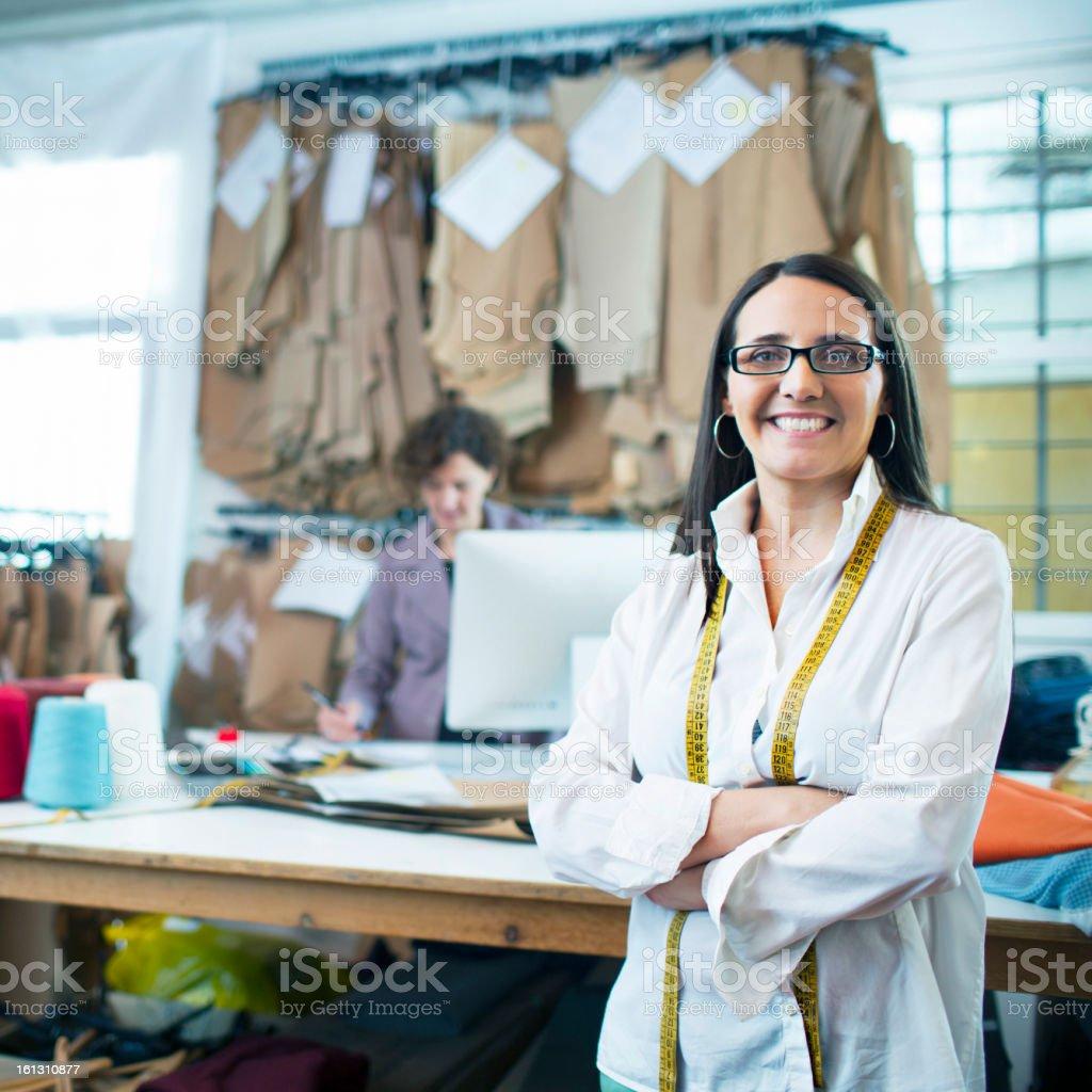 Dressmaker royalty-free stock photo