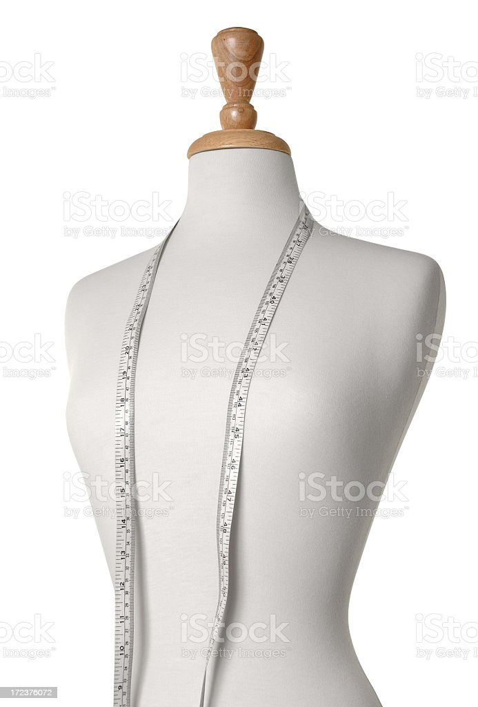 Dressmaker's dummy or mannequin royalty-free stock photo
