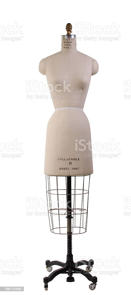 Dressmaker's dummy royalty-free stock photo