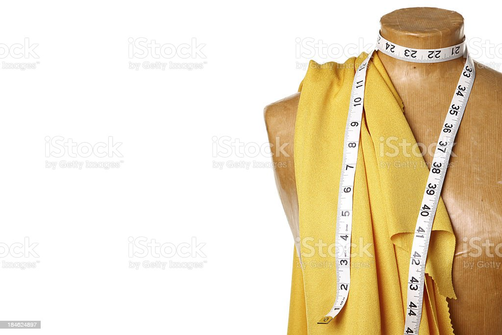 Dressmaking mannequin royalty-free stock photo