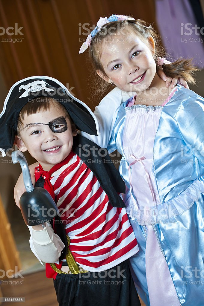 Dress-Up Pals stock photo