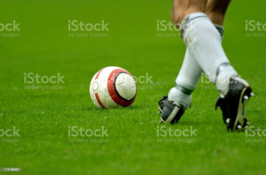 dribbling the ball stock photo