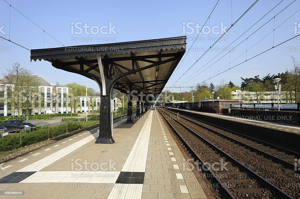 Driebergen-Zeist railway station stock photo