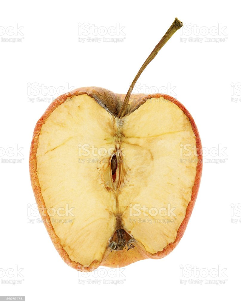Dried Apple stock photo