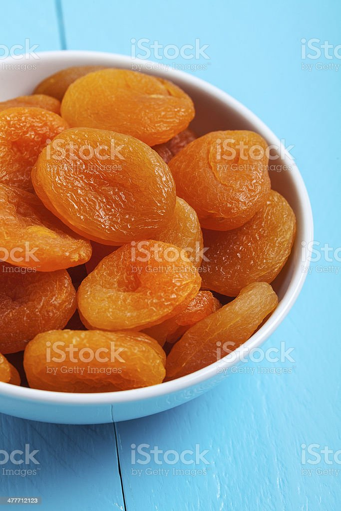 dried apricot royalty-free stock photo