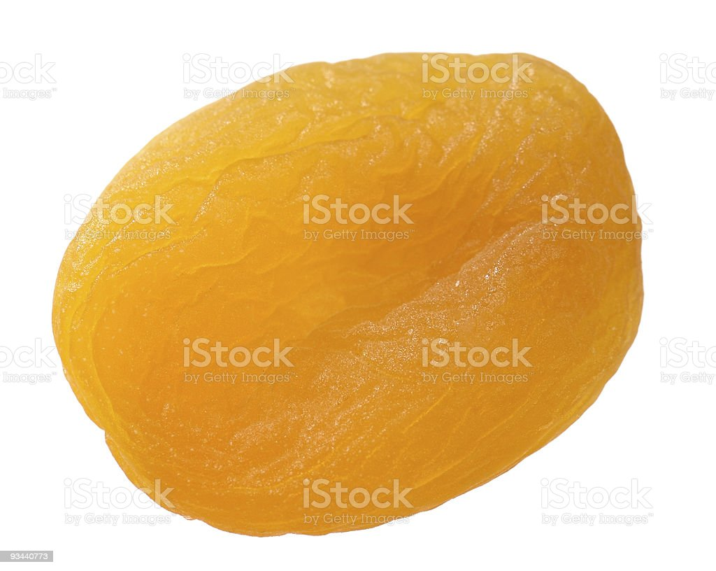 Dried Apricot stock photo