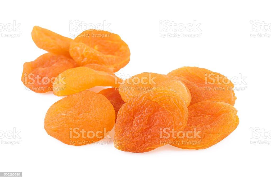 Dried Apricots Closeup stock photo