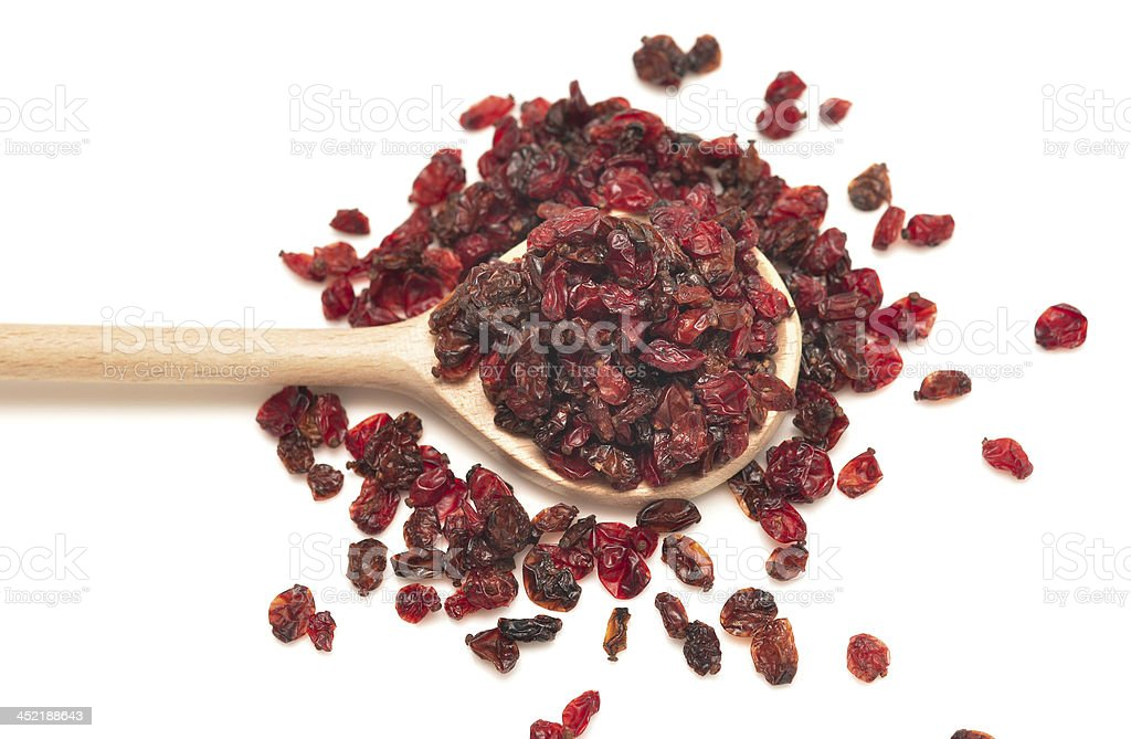 dried barberry royalty-free stock photo