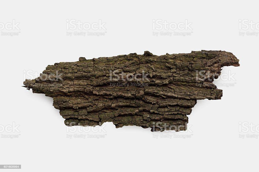 dried bark stock photo