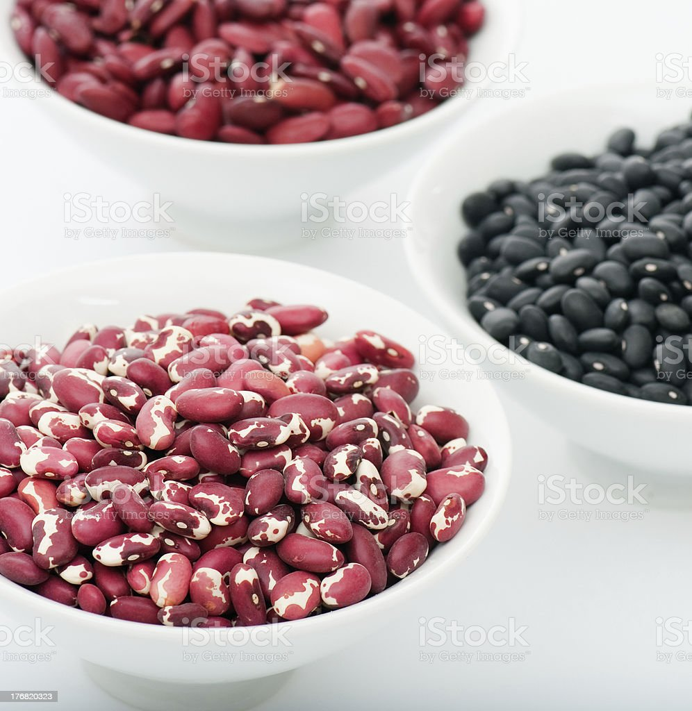 Dried Beans royalty-free stock photo