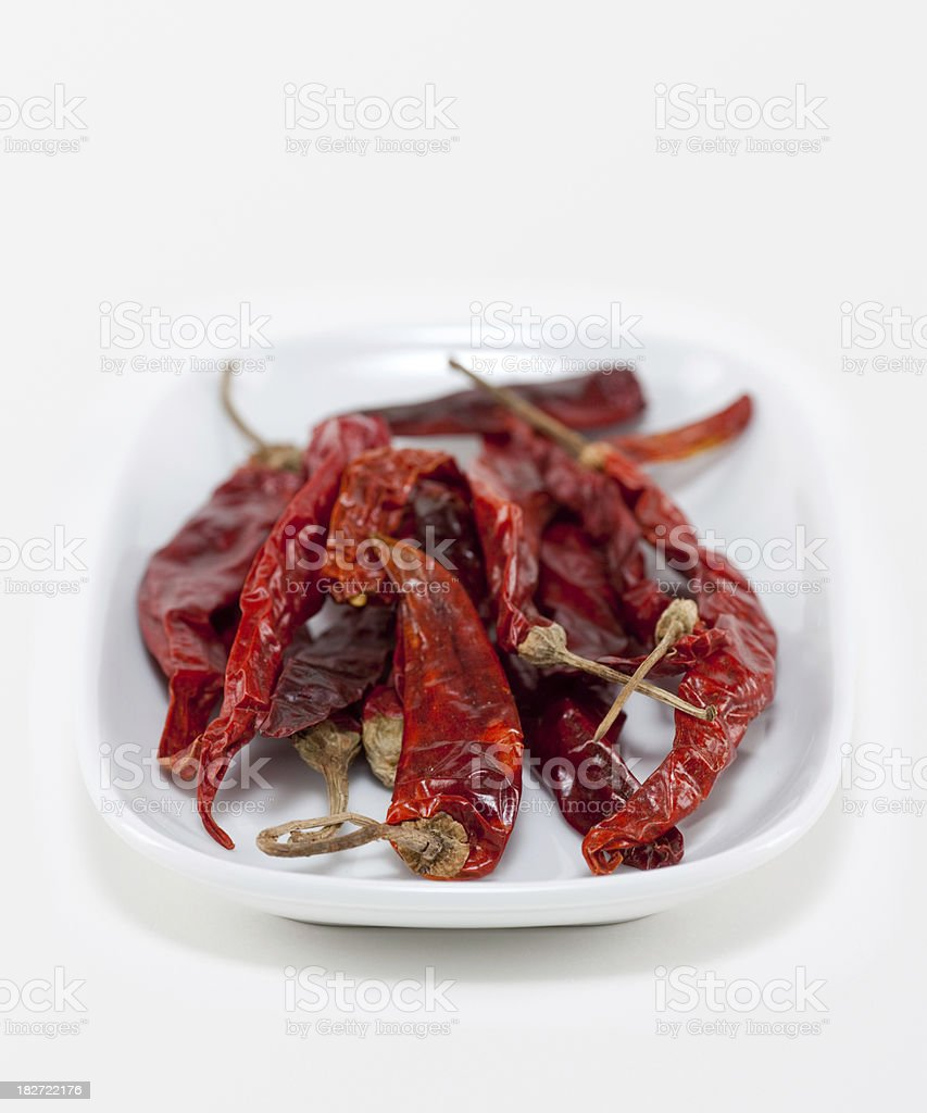 Dried Chili Pepper royalty-free stock photo